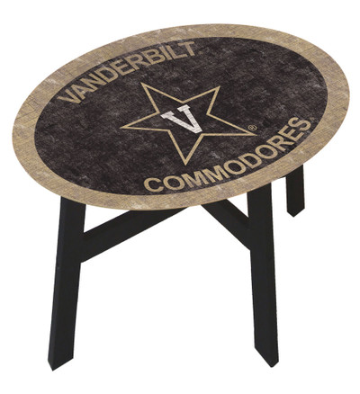 Vanderbilt Commodores Team Color Side Table |FAN CREATIONS | C0825-Vanderbilt