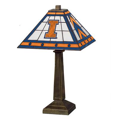 Illinois Fighting Illini Mission Lamp | Memory Company |  COL-ILL-290