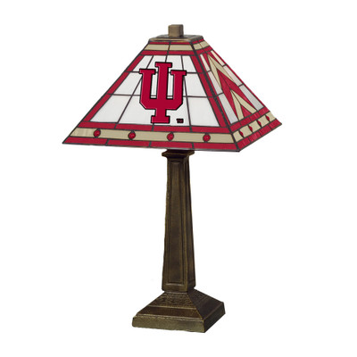 Indiana Hoosiers Mission Lamp   Memory Company    COL-IN-290