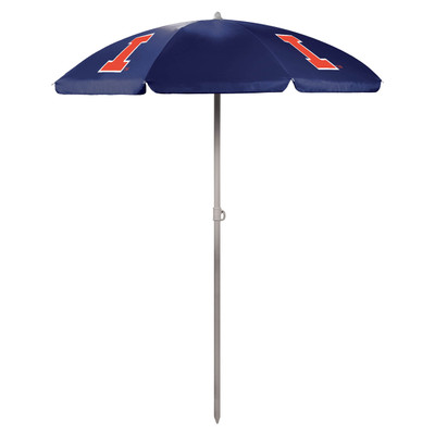 Illinois Fighting Illini Beach Umbrella | Picnic Time | 822-00-138-214-0