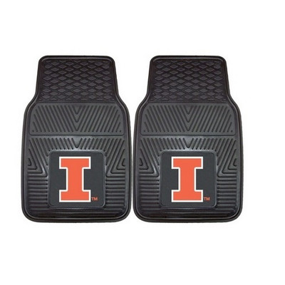 Illinois Fighting Illini Heavy Duty Car Mats | Fanmats | 8912