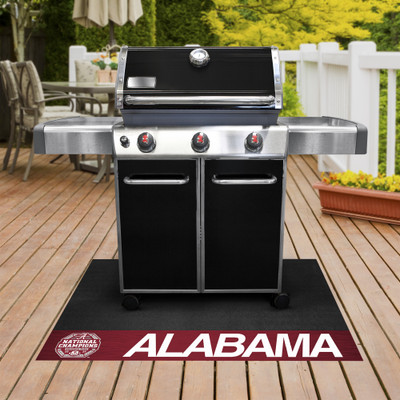 Alabama Crimson Tide National Champions Grill Mat | Fanmats | 30559