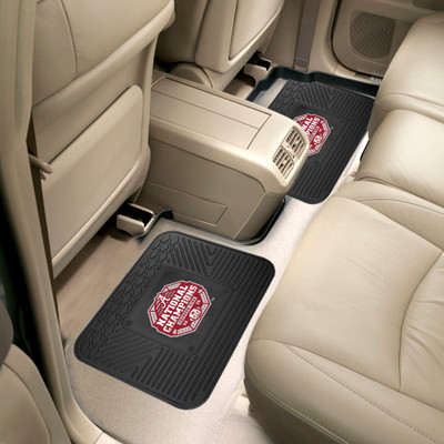Alabama Crimson Tide National Champions Logo Utility Car Mats Set of Two | Fanmats | 30563
