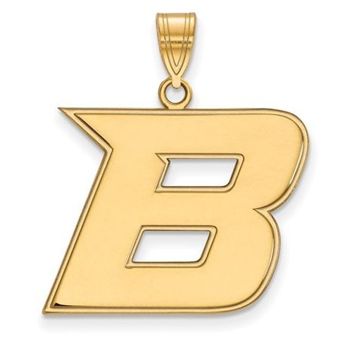 Gold-Toned SC State Pendant with Chain 21mm