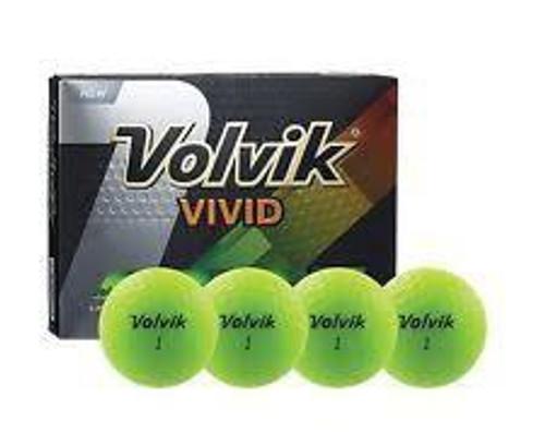 Volvik Vivid Green Golf Ball
