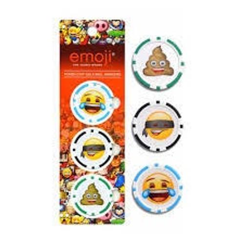 Emoji Golf Poker Chip Ball Markers