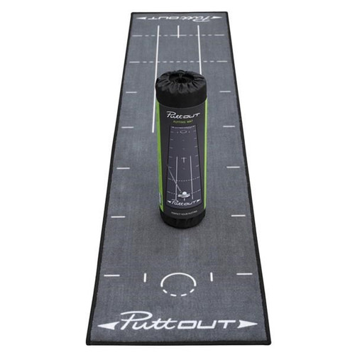 PUTT OUT Putting Mat - Grey