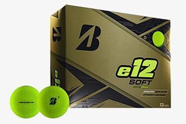 E12 Bridgestone Golf Ball - Green