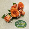 Orange Dream Corsage (CORS109-OD)
