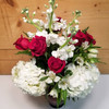 Must Be Love (SCF18V05) by Savilles Country Florist.  Flower and Plant delivery to Orchard Park, NY and the surrounding area including same day delivery to Hamburg, West Seneca, East Aurora, Blasdell