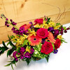 Bright Elegance (SCF19D27) by Savilles Country Florist.  Flower and Plant delivery to Orchard Park, NY and the surrounding area including same day delivery to Hamburg, West Seneca, East Aurora, Blasdell and Buffalo NY