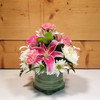 Tender Touch Cube (SCF20D19) by Savilles Country Florist.  Flower and Plant delivery to Orchard Park, NY and the surrounding area including same day delivery to Hamburg, West Seneca, East Aurora, Blasdell and Buffalo NY