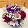 Polka Dot Blooms Bouquet - Purple (SCF7022pur)