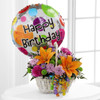 Happy Blooms Basket by Savilles Country Florist. Flower delivery to Orchard Park, Hamburg, West Seneca, East Aurora, Buffalo, NY and surrounding suburbs.