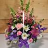 Happy Spring Flower Basket (SCF6513)