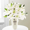 The Faithful Blessings Bouquet by Savilles Country Florist. Flower delivery to Orchard Park, Hamburg, West Seneca, East Aurora, Buffalo, NY and surrounding suburbs.