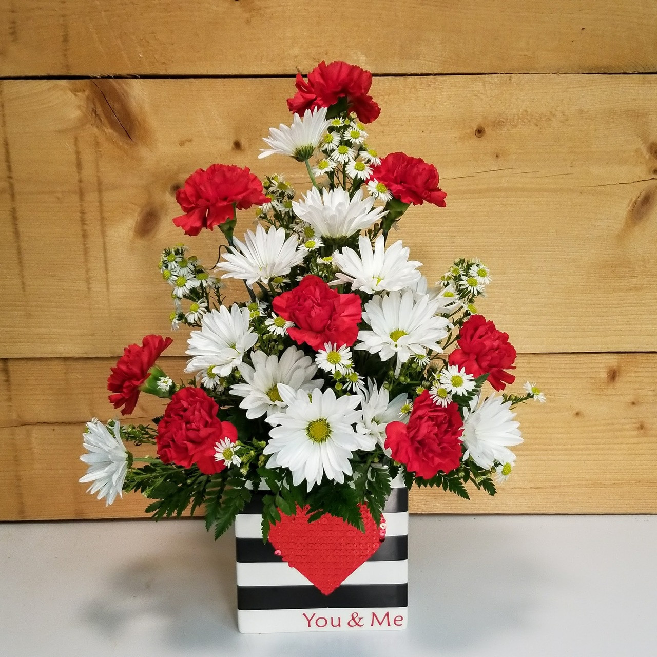 You & Me Bouquet (SCF17SD01) Sweetest Day flowers and gifts from Savilles Country Florist