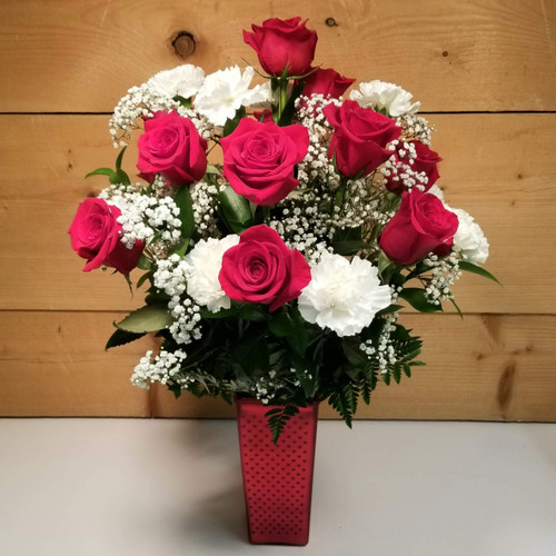 Love Everlasting (SCF20D10) by Savilles Country Florist.  Flower and Plant delivery to Orchard Park, NY and the surrounding area including same day delivery to Hamburg, West Seneca, East Aurora, Blasdell and Buffalo NY
