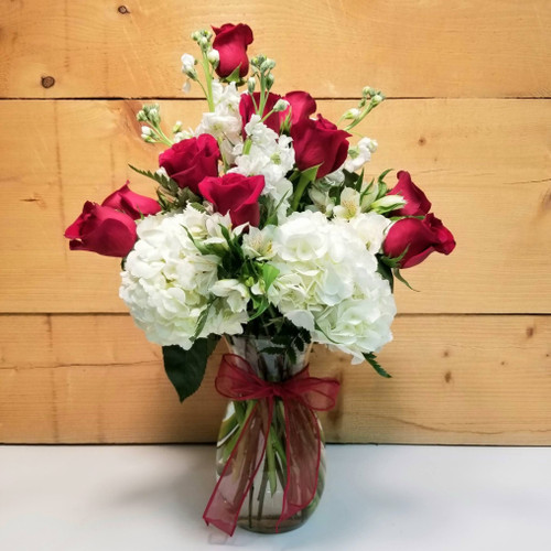 Love So Soft (SCF17SD03) Valentine's Day flowers and gifts from Savilles Country Florist Orchard Park, NY