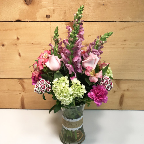 Burlap & Lace  - SCF18M03 Delivering Flowers throughout Western New York