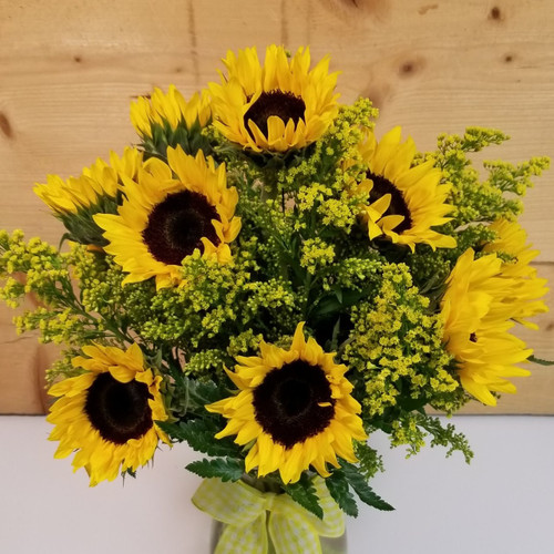 Sunny Smiles Bouquet (SCF18M08) Buffalo, NY Orchard Park, Flower Delivery, Mother's Day Flowers