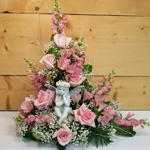 Precious Memories (SCF18D42) by Savilles Country Florist.  Flower and Plant delivery to Orchard Park, NY and the surrounding area including same day delivery to Hamburg, West Seneca, East Aurora, Blasdell and Buffalo NY