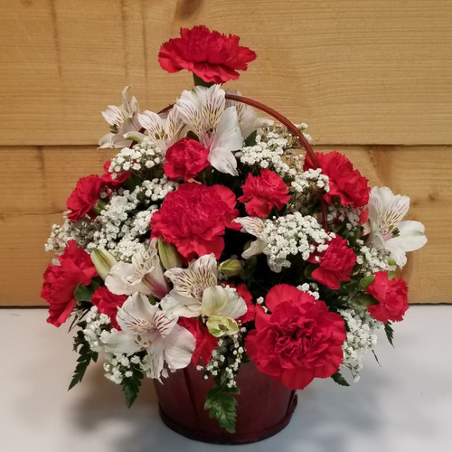Love Me True (SCF19V08) by Savilles Country Florist.  Flower and Plant delivery to Orchard Park, NY and the surrounding area including same day delivery to Hamburg, West Seneca, East Aurora, Blasdell and Buffalo NY