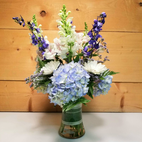 Whispering Winds (SCF19D04)  Savilles Country Florist.  Flower and Plant delivery to Orchard Park, NY and the surrounding area including same day delivery to Hamburg, West Seneca, East Aurora, Blasdell and Buffalo NY