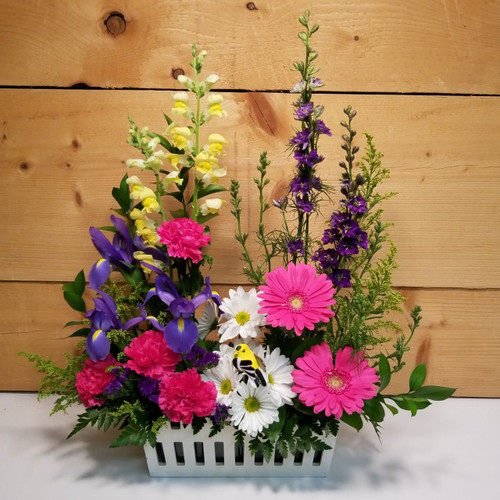 The Cottage Garden (SCF19D07) by Savilles Country Florist. Flower and Plant delivery to