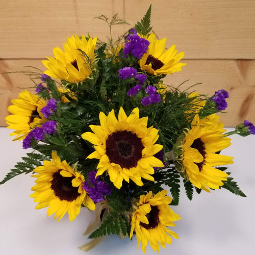 Bright Sunny Day (SCF19D43) by Savilles Country Florist.  Flower and Plant delivery to Orchard Park, NY and the surrounding area including same day delivery to Hamburg, West Seneca, East Aurora, Blasdell and Buffalo NY