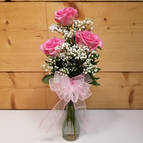 Gratitude & Joy Trio (SCF19D53) by Savilles Country Florist.  Flower and Plant delivery to Orchard Park, NY and the surrounding area including same day delivery to Hamburg, West Seneca, East Aurora, Blasdell and Buffalo NY