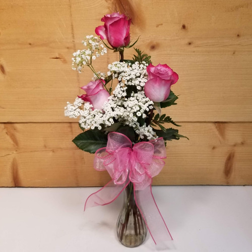 Enchantment Trio (SCF19D55) by Savilles Country Florist.  Flower and Plant delivery to Orchard Park, NY and the surrounding area including same day delivery to Hamburg, West Seneca, East Aurora, Blasdell and Buffalo NY