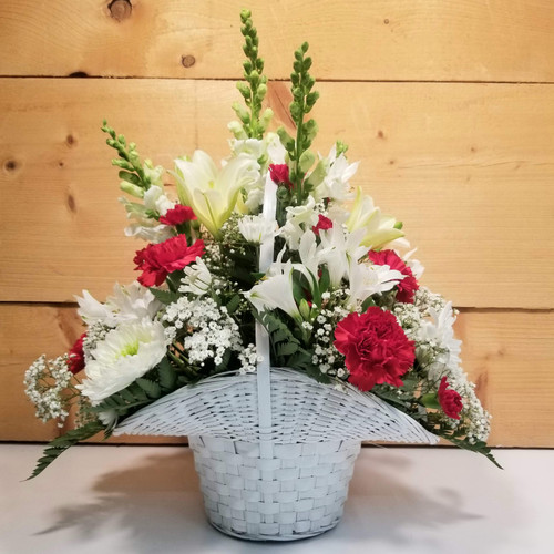 Message of Love - Large (SCF20D01) by Savilles Country Florist.  Flower and Plant delivery to Orchard Park, NY and the surrounding area including same day delivery to Hamburg, West Seneca, East Aurora, Blasdell and Buffalo NY