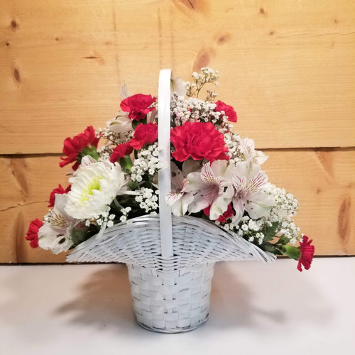 Message of Love - Small (SCF20D03) by Savilles Country Florist.  Flower and Plant delivery to Orchard Park, NY and the surrounding area including same day delivery to Hamburg, West Seneca, East Aurora, Blasdell and Buffalo NY
