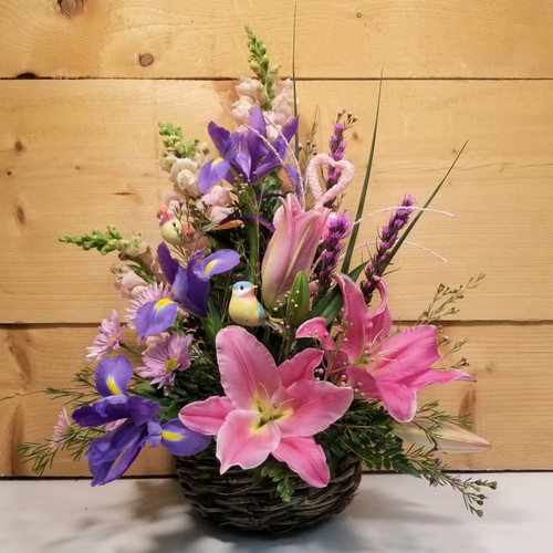 Serenade of Love (SCF20D04) by Savilles Country Florist.  Flower and Plant delivery to Orchard Park, NY and the surrounding area including same day delivery to Hamburg, West Seneca, East Aurora, Blasdell and Buffalo NY