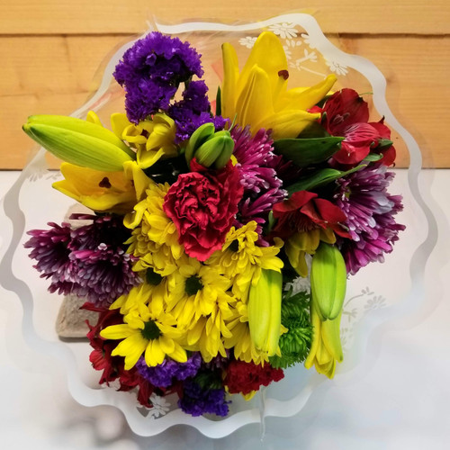 Wrapped Brights Bouquet (SCF20D46)