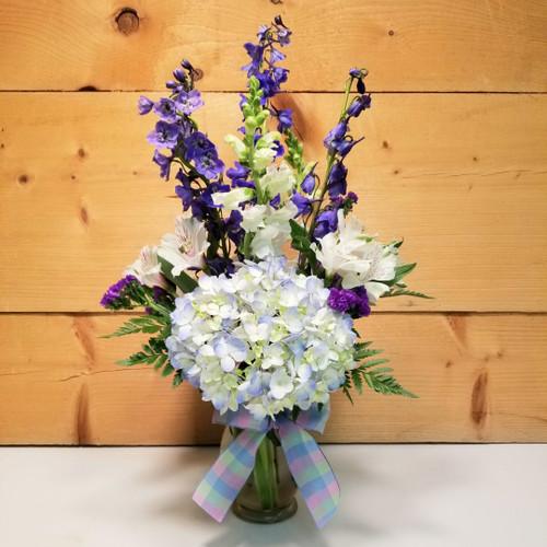 Blue Skies Bouquet (SCF21D06)