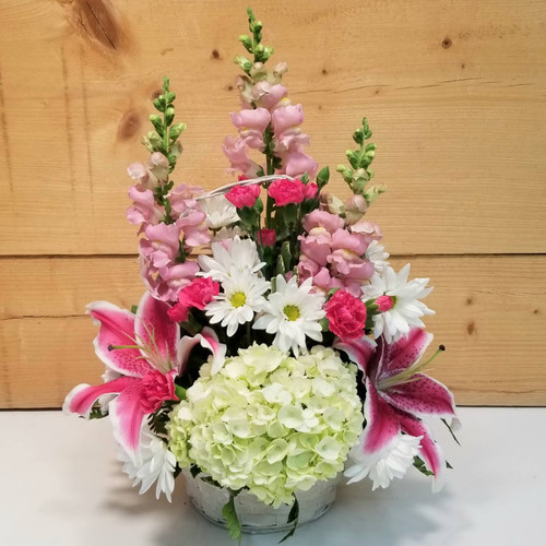 Blooms of Beauty Basket (SCF7009b)