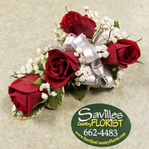 4 Red spray Roses (CORS31-4RED)