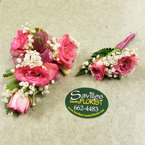 Variegated Pink Rose Combo (COMBO2021-VPNK)