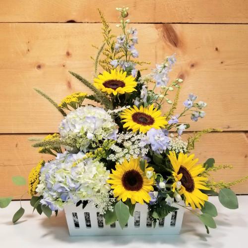 September Smiles Basket Arrangement (SCF21D44)