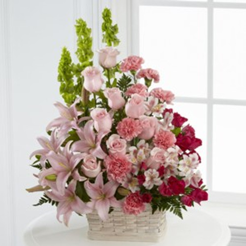 The Beautiful Spirit Arrangement by Savilles Country Florist. Flower delivery to Orchard Park, Hamburg, West Seneca, East Aurora, Buffalo, NY and surrounding suburbs.