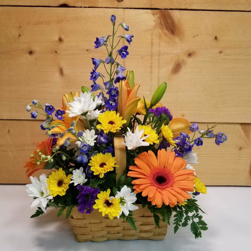 Happiness Found (SCF18D19) Flower Arrangement, Same day delivery to Buffalo, NY Orchard Park, NY and the surrounding suburbs