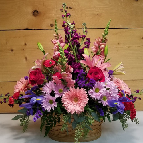 Lavish Love (SCF19D02) by Savilles Country Florist.  Flower and Plant delivery to Orchard Park, NY and the surrounding area including same day delivery to Hamburg, West Seneca, East Aurora, Blasdell and Buffalo NY