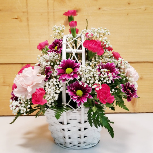 Trellis Blooms (SCF19D42) by Savilles Country Florist.  Flower and Plant delivery to Orchard Park, NY and the surrounding area including same day delivery to Hamburg, West Seneca, East Aurora, Blasdell and Buffalo NY