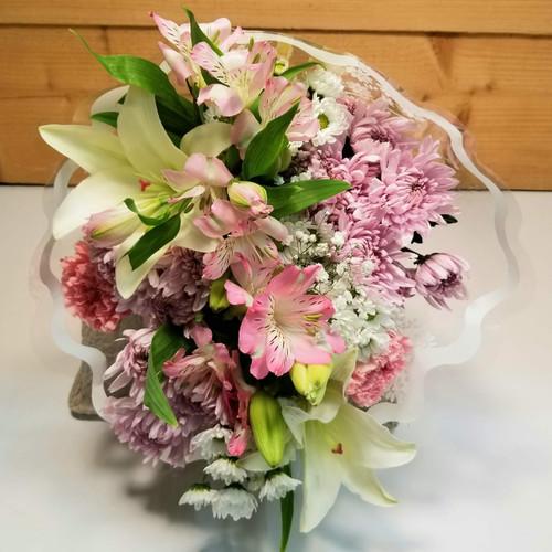Wrapped Pastel Bouquet (SCF20D47)