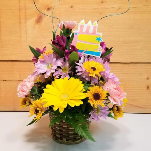 Happy Birthday Basket (SCF21D23)
