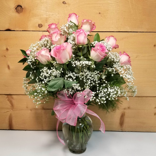 Rose Elegance Pink by Savilles Country Florist. Flower delivery to Orchard Park, Hamburg, West Seneca, East Aurora, Buffalo, NY and surrounding suburbs.