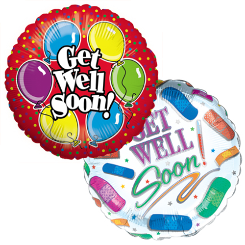 Get Well Balloon Bunch (EO-6035)