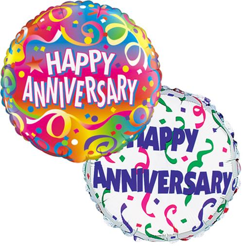 Anniversary Balloon Bunch